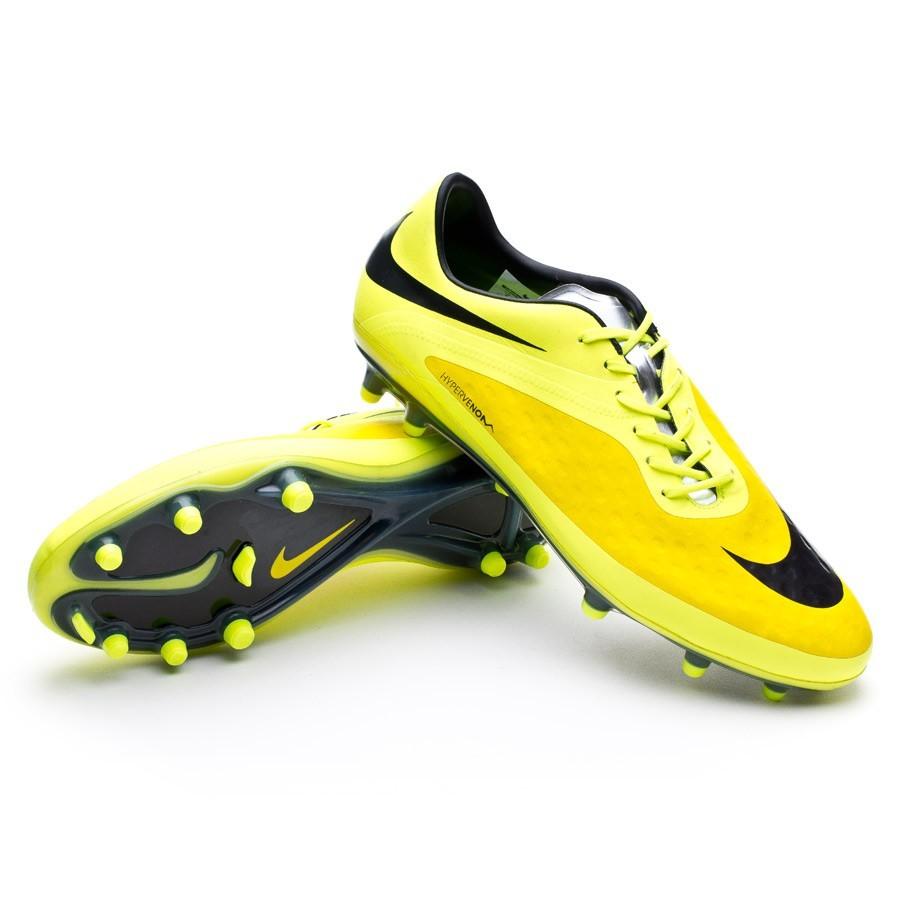 2458b9065 Football Boots Nike Hypervenom Phatal FG Vibrant yellow-Volt ice - Football  store Fútbol Emotion
