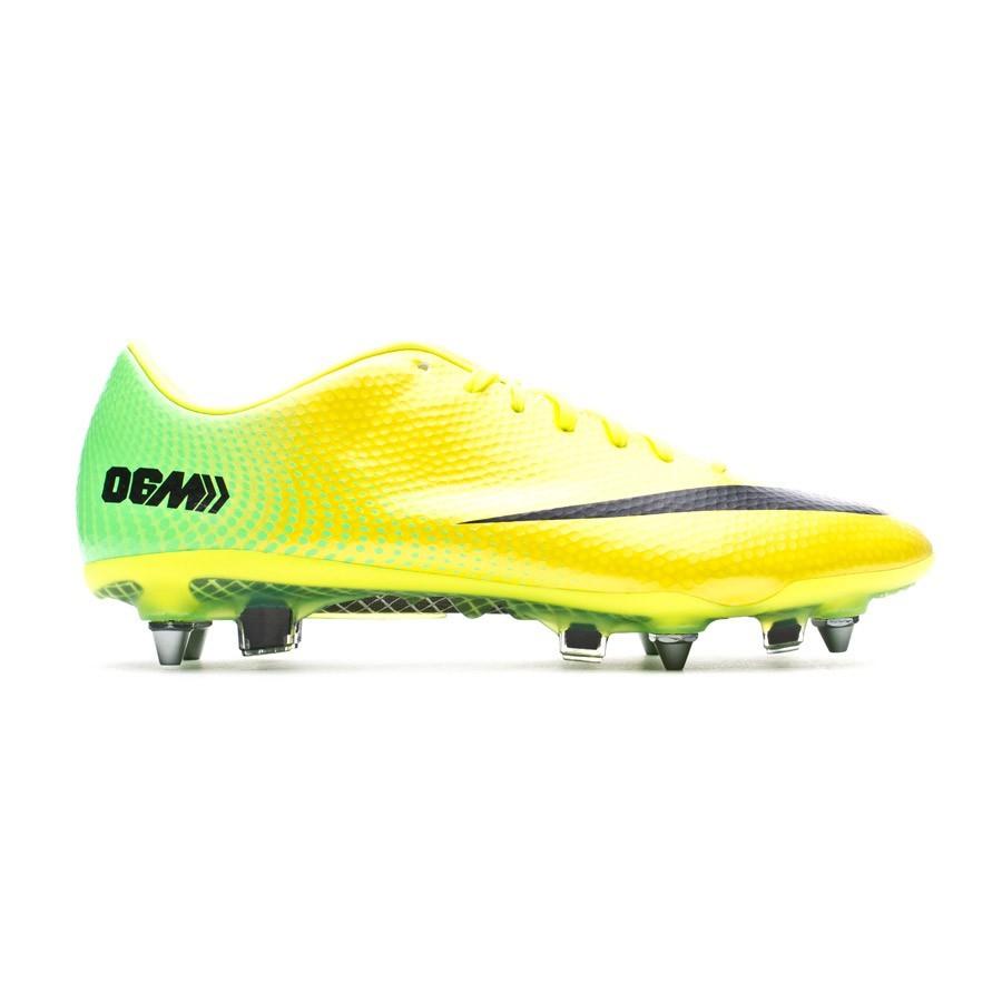 280e150bcb26 Football Boots Nike Mercurial Vapor IX SG-Pro ACC Fast Forward ´06 Vibrant  yellow-Neo lime - Tienda de fútbol Fútbol Emotion