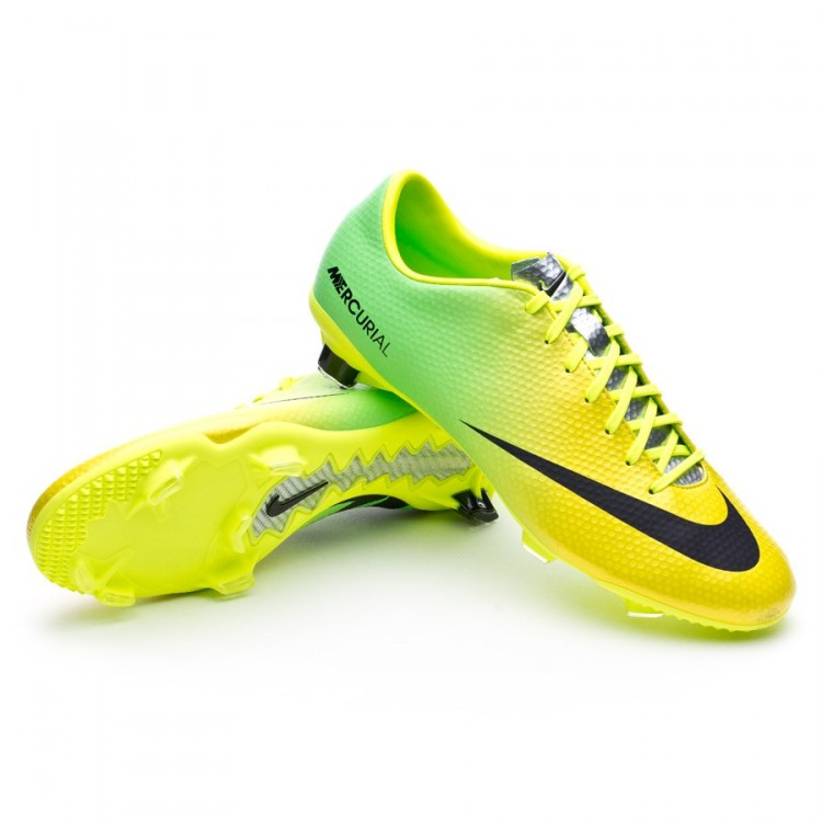 0dafe889a57 Football Boots Nike Mercurial Veloce FG Vibrant yellow-Neo lime ...