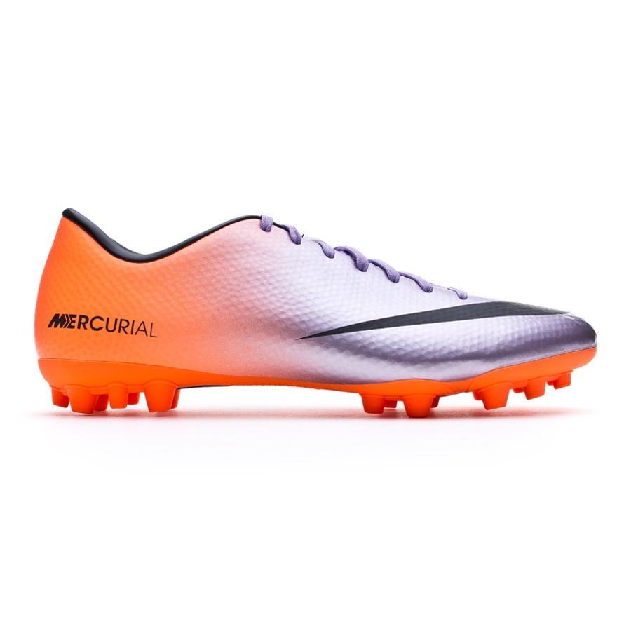 aa4a7a69bc Chuteira Nike Mercurial Victory IV AG Metallic-Laranja - Loja de futebol  Fútbol Emotion