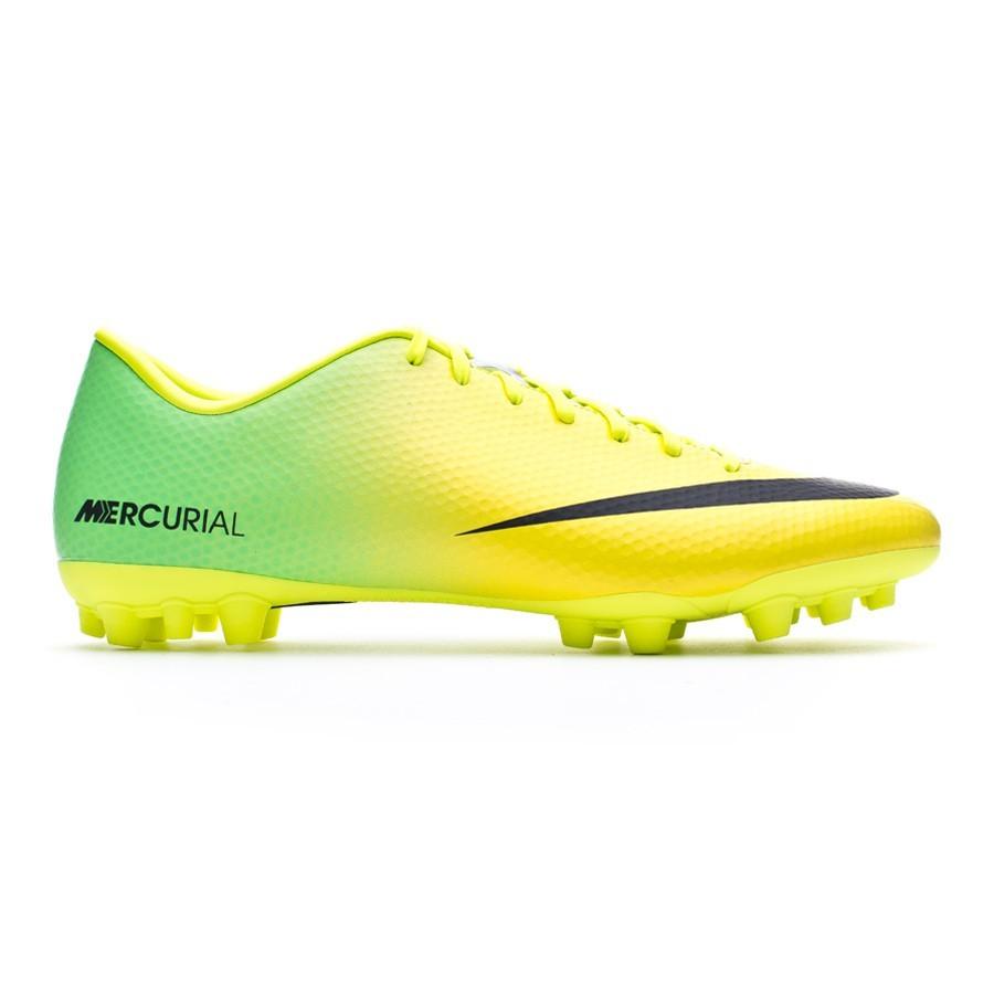 2de4eae4f Football Boots Nike Mercurial Victory IV AG Vibrant yellow-Neo lime -  Football store Fútbol Emotion