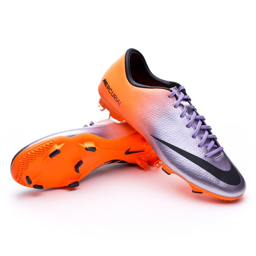 7e7651be8e Chuteira Nike Mercurial Victory IV FG Metallic-Laranja - Loja de futebol  Fútbol Emotion