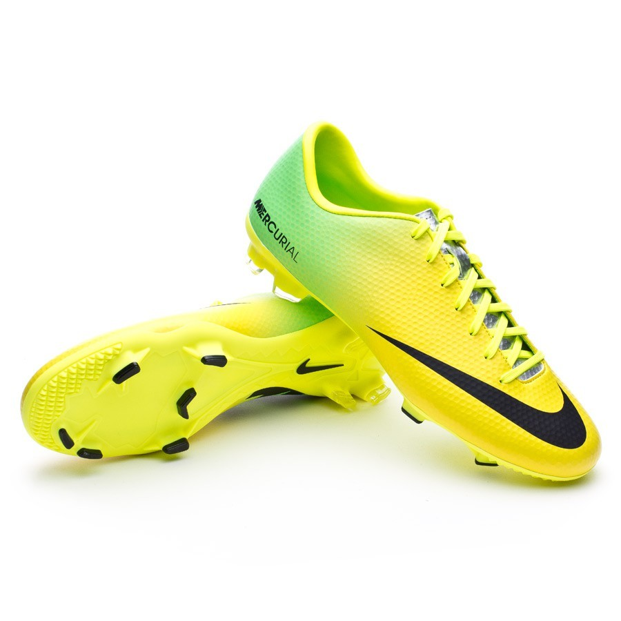 football boots nike mercurial victory iv fg vibrant yellow. Black Bedroom Furniture Sets. Home Design Ideas