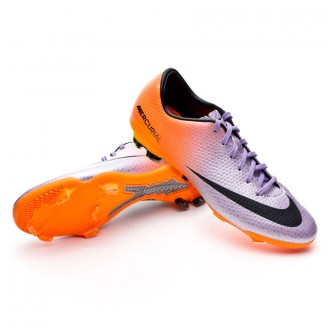 Kids Mercurial Vapor IX FG Metallic-Orange