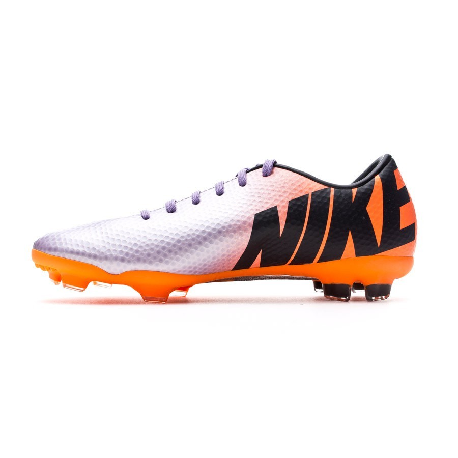purchase cheap 996c8 5508e Bota de fútbol Nike Mercurial Vapor IX FG Fast Forward ´10 Niño Metallic- Naranja - Soloporteros es ahora Fútbol Emotion