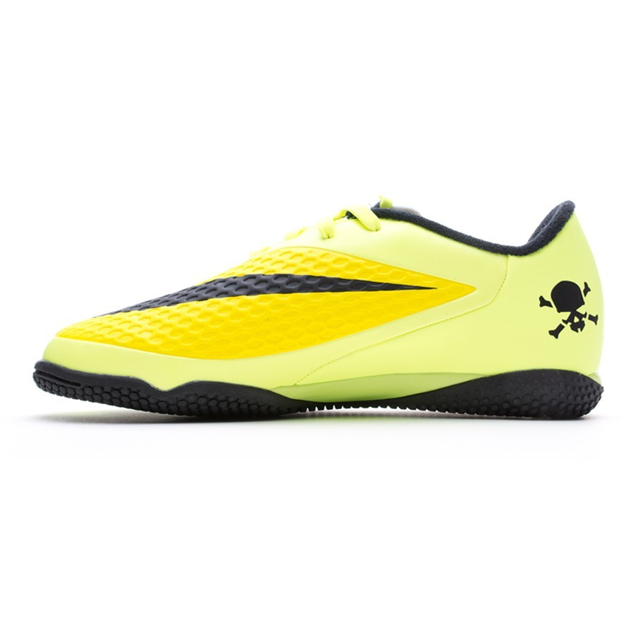 33a7afbde12 Futsal Boot Nike Jr Hypervenom Phelon IC Vibrant yellow-Volt ice - Football  store Fútbol Emotion