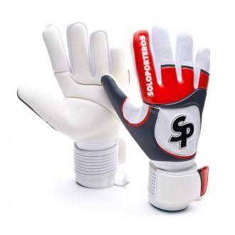 Luvas  SP Futsal Fingers 2014 Vermelho-Branco