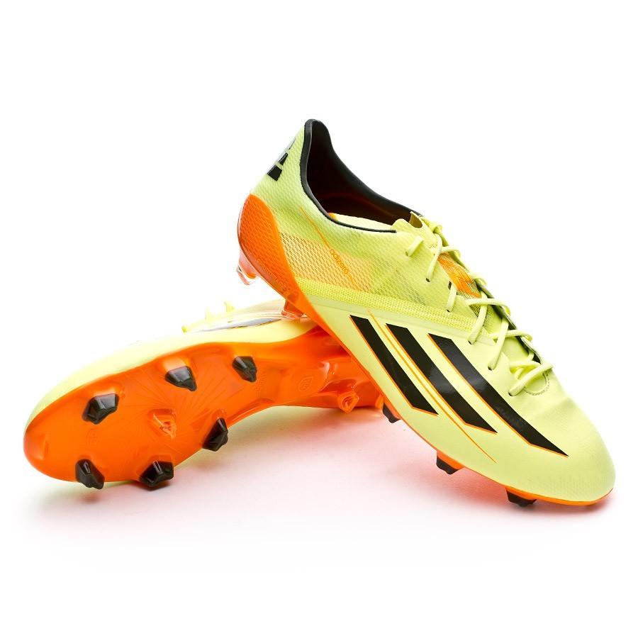 88d5c325e5 Boot adidas adizero F50 TRX FG Glow-Earth green-Solar Zest - Leaked soccer