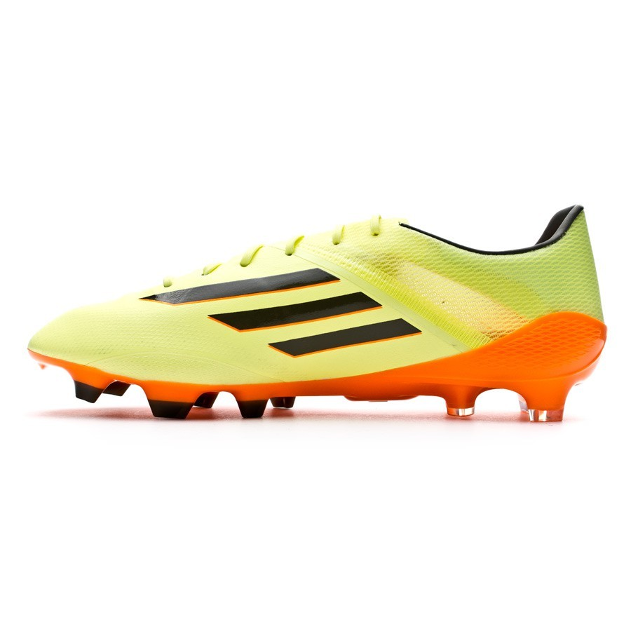 Boot adidas adizero F50 TRX FG Glow-Earth green-Solar Zest - Football store  Fútbol Emotion 322e5dc58a46d