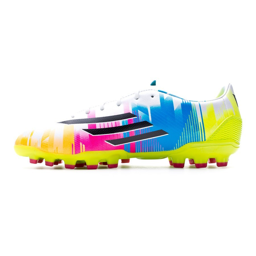 promo code c9aca 939b9 Boot adidas F30 TRX AG Messi Running white-Black-Solar slime - Football  store Fútbol Emotion