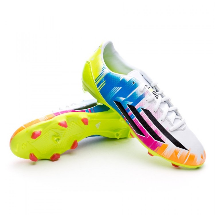 huge selection of 21ab6 a1568 bota-adidas-f10-trx-fg-messi-running-white-
