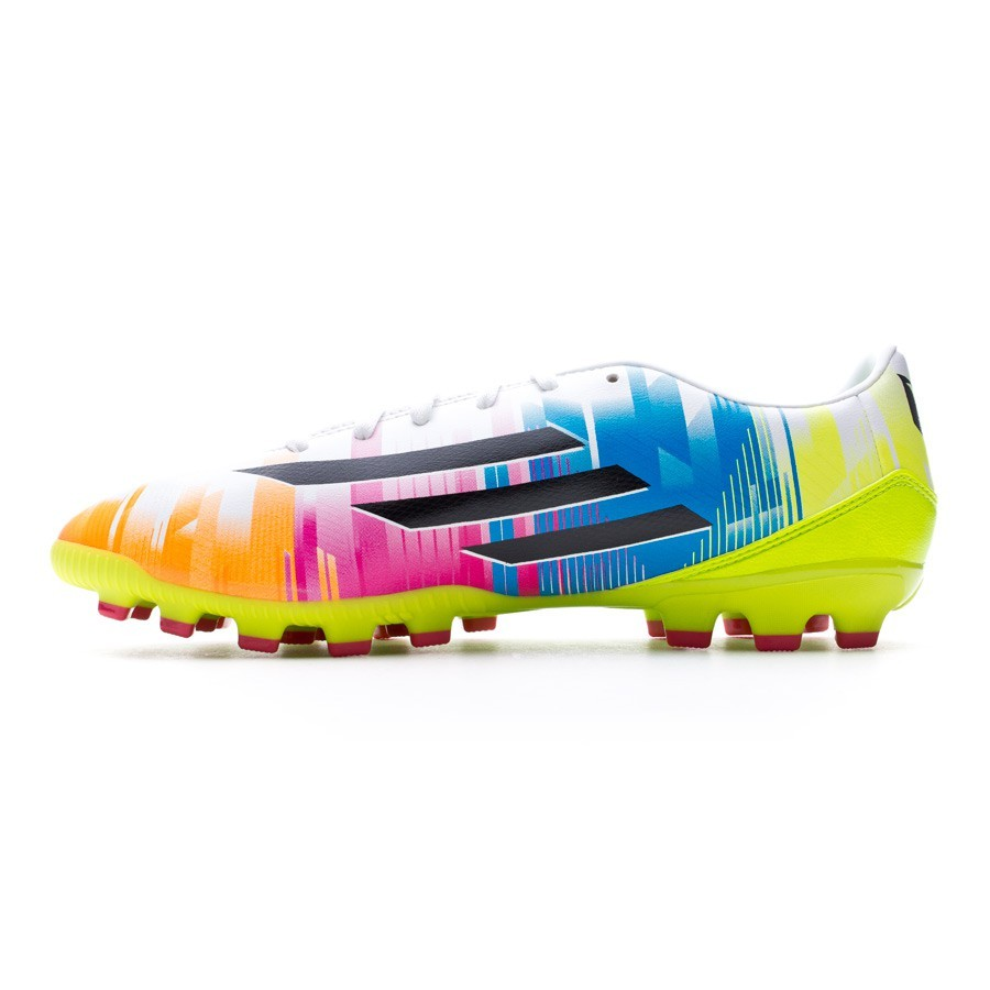 huge selection of e10e8 9fb9f Boot adidas F10 TRX AG Messi Running white-Black-Solar slime - Soloporteros  es ahora Fútbol Emotion