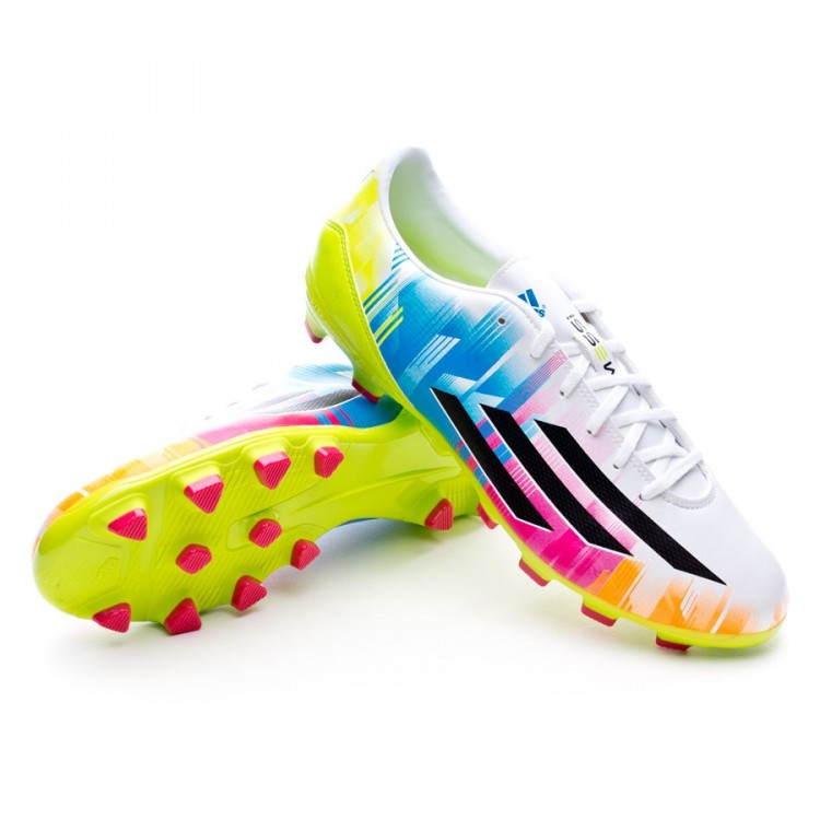 brand new fcd6c f71ec bota-adidas-f10-trx-hg-messi-running-white-