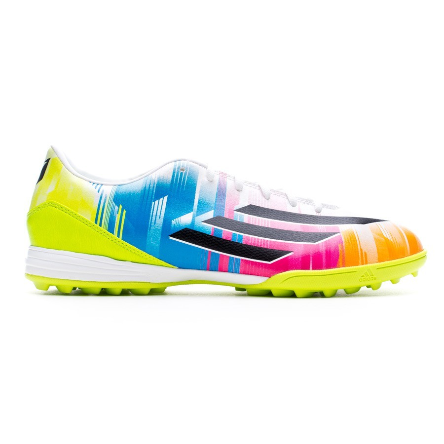 lowest price 60745 90f9b Boot adidas F10 TRX Turf Messi Running white-Black-Solar slime - Football  store Fútbol Emotion
