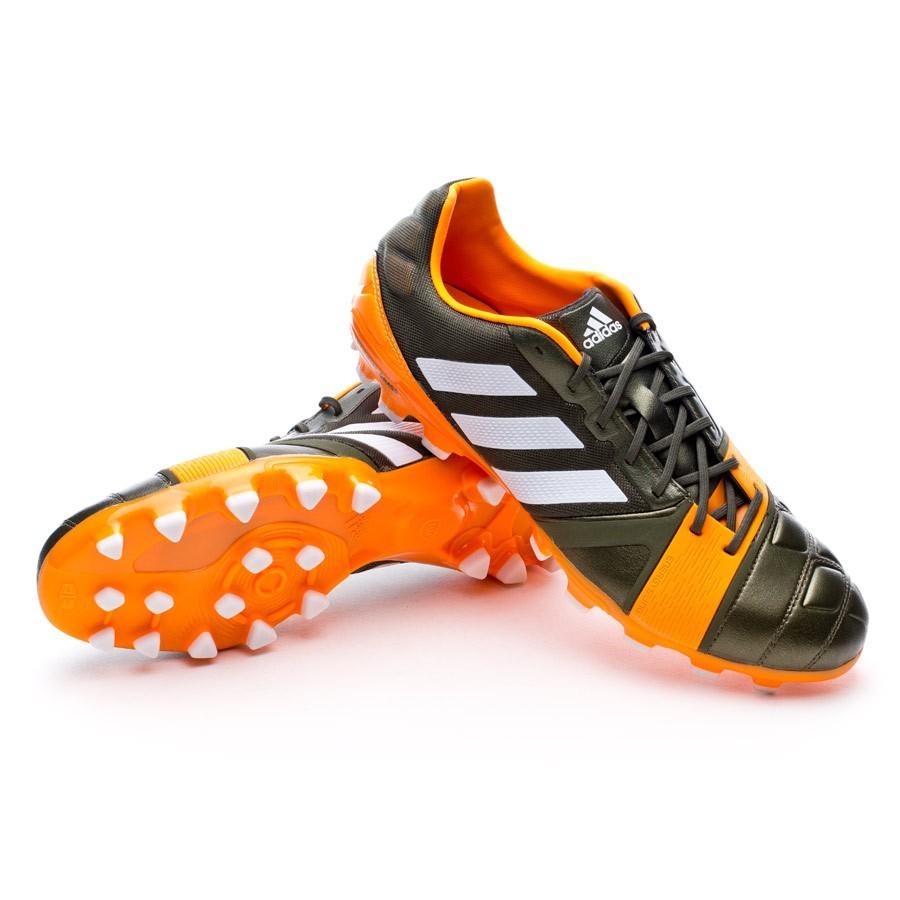 6fb77f04103 adidas Nitrocharge 1.0 TRX AG Football Boots. Earth green-Running white- Solar ...