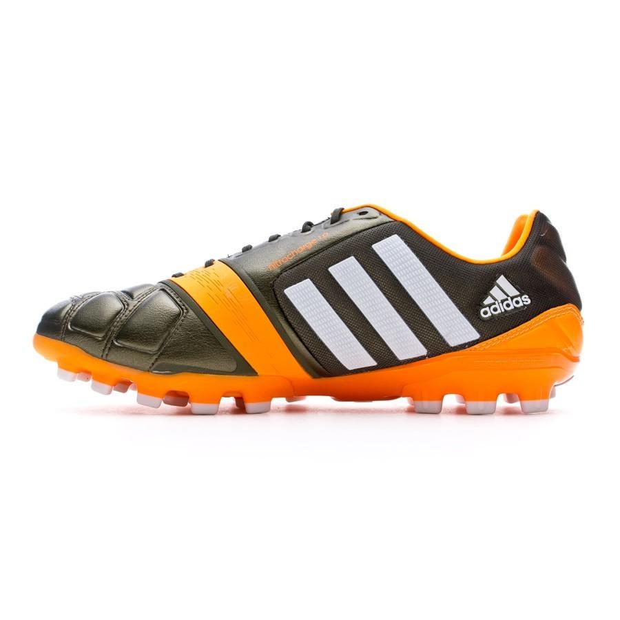 5f166d054c8 Football Boots adidas Nitrocharge 1.0 TRX AG Earth green-Running white-Solar  Zest - Football store Fútbol Emotion