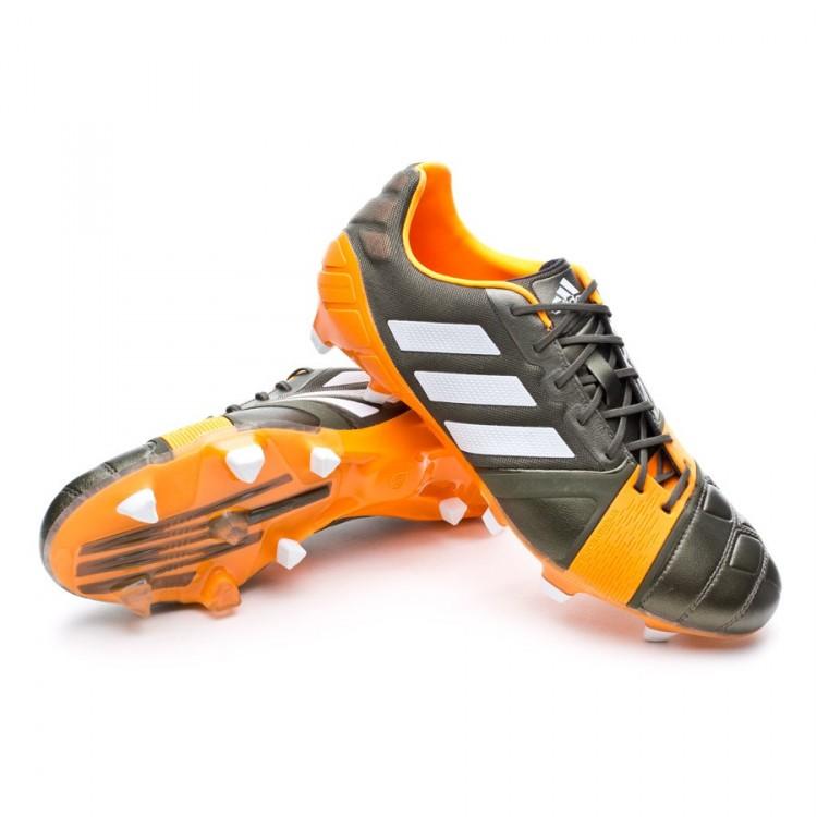 78a6f813b Football Boots adidas Nitrocharge 1.0 TRX FG Earth green-Running ...