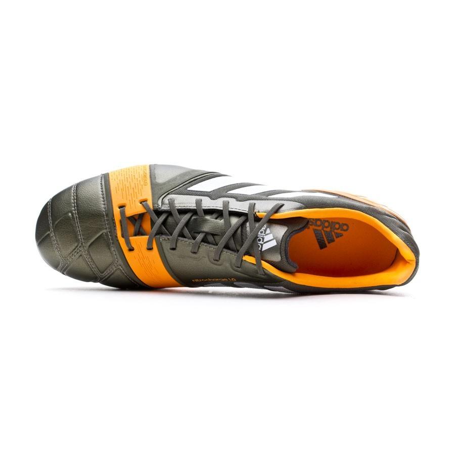 50f42de04 Football Boots adidas Nitrocharge 1.0 TRX FG Earth green-Running  white-Solar Zest - Tienda de fútbol Fútbol Emotion