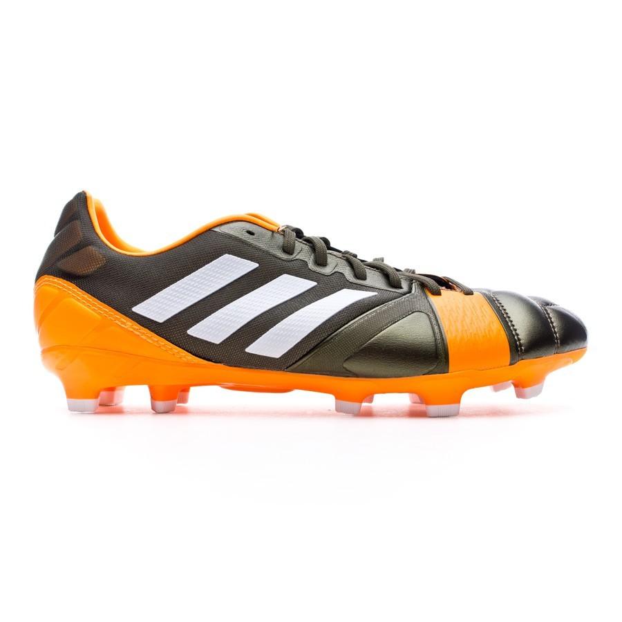04a1e81c337 Football Boots adidas Nitrocharge 2.0 TRX FG Earth green-Running  white-Solar Zest - Football store Fútbol Emotion