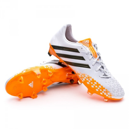 925014cf1 Football Boots adidas Predator LZ TRX FG Running white-Earth green-Solar  Zest - Football store Fútbol Emotion