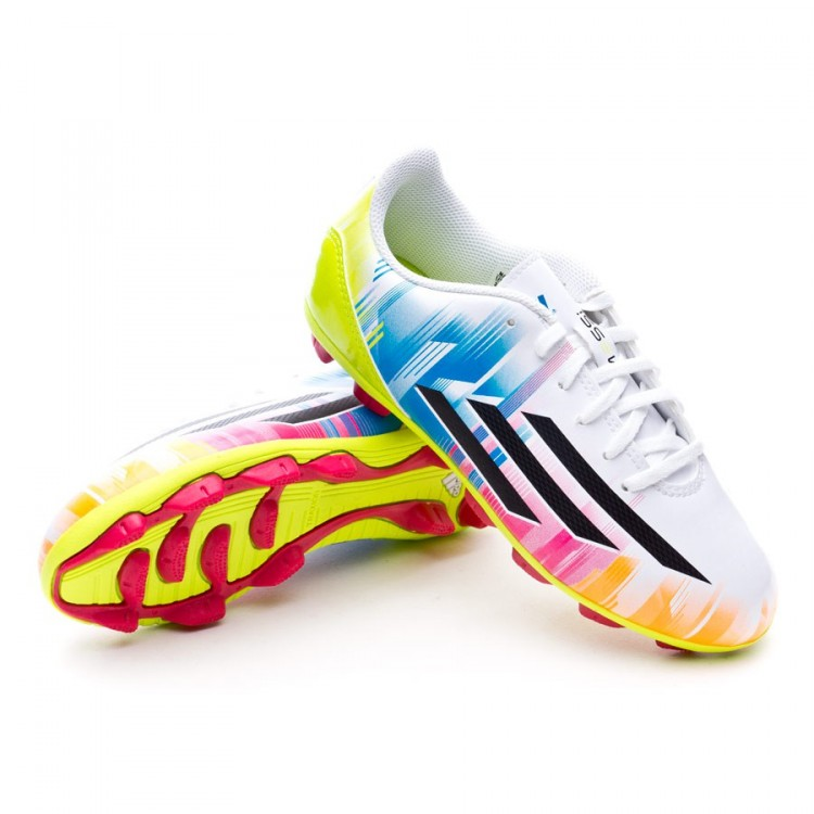 new style 7706d 45791 bota-adidas-jr-f5-trx-hg-messi-running-