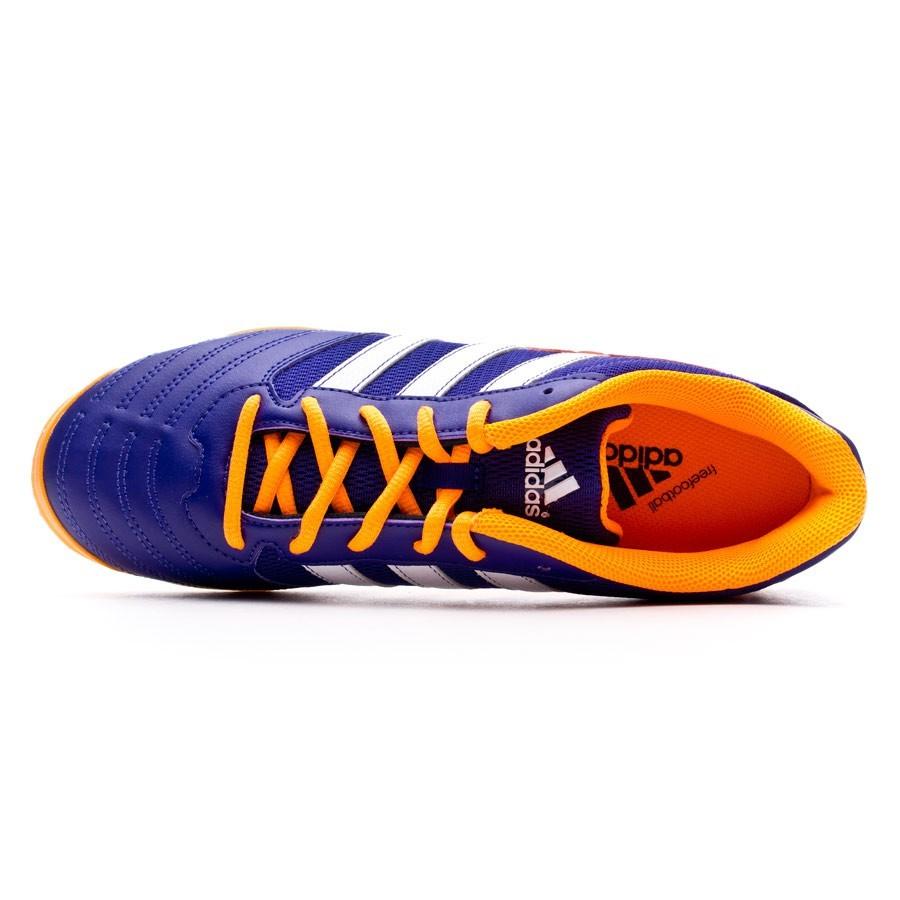 size 40 7aa51 4a541 Futsal Boot adidas Super Sala Collegiate purple-Solar zest-Running white -  Football store Fútbol Emotion
