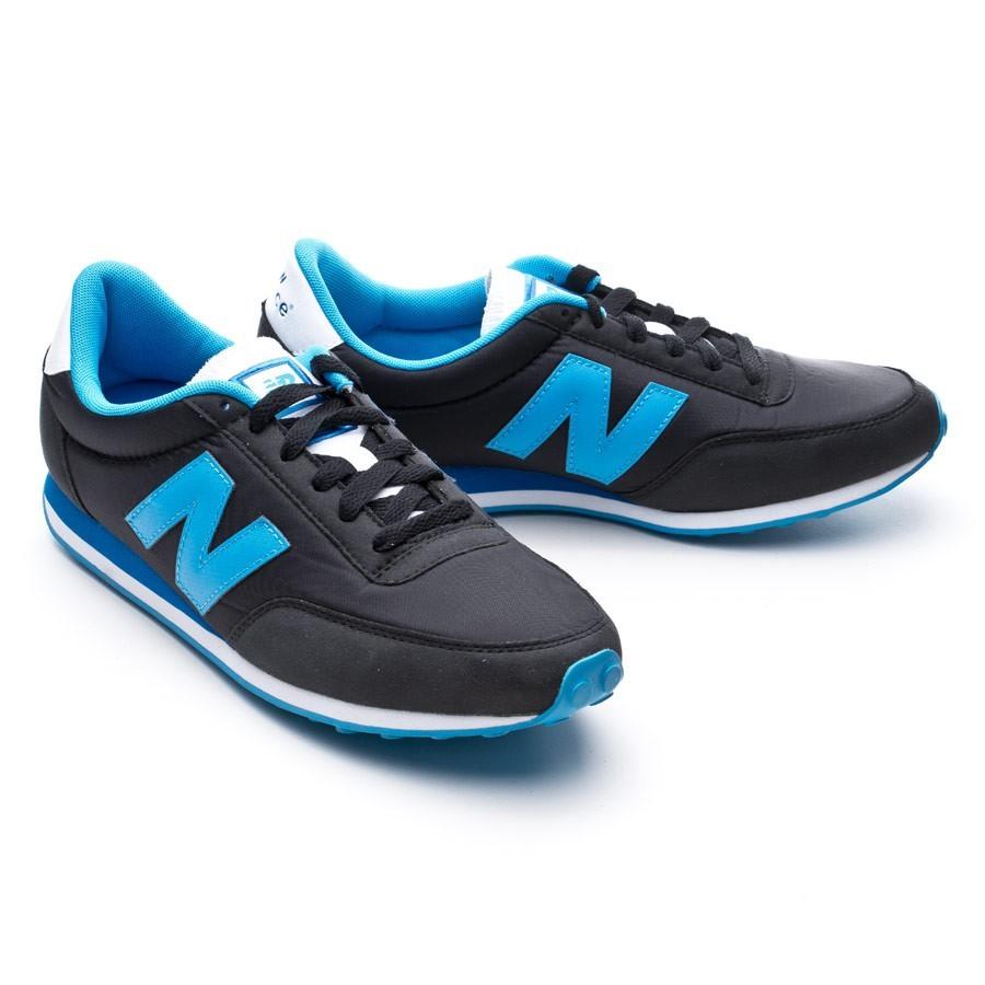 new balance negra azul
