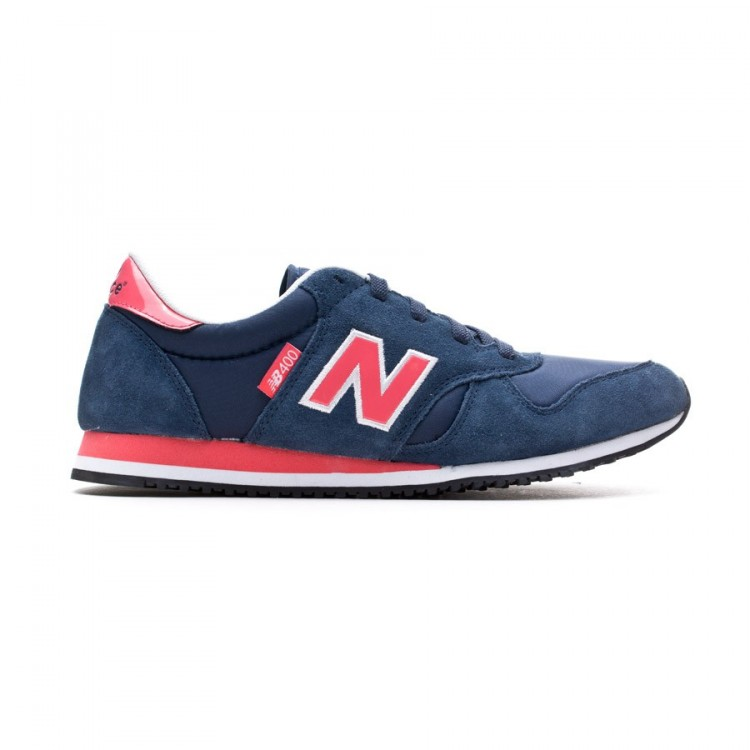 Trainers New Balance 400 Navy Blue-Fuchsia - Football store Fútbol ... a395f803e