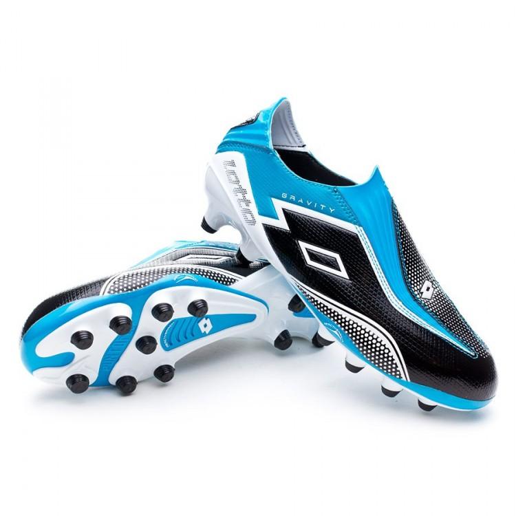 Fg Zapatos Lotto Gravity Fútbol Iv Tienda Azul 100 De Zhero Negra m8wnvN0O