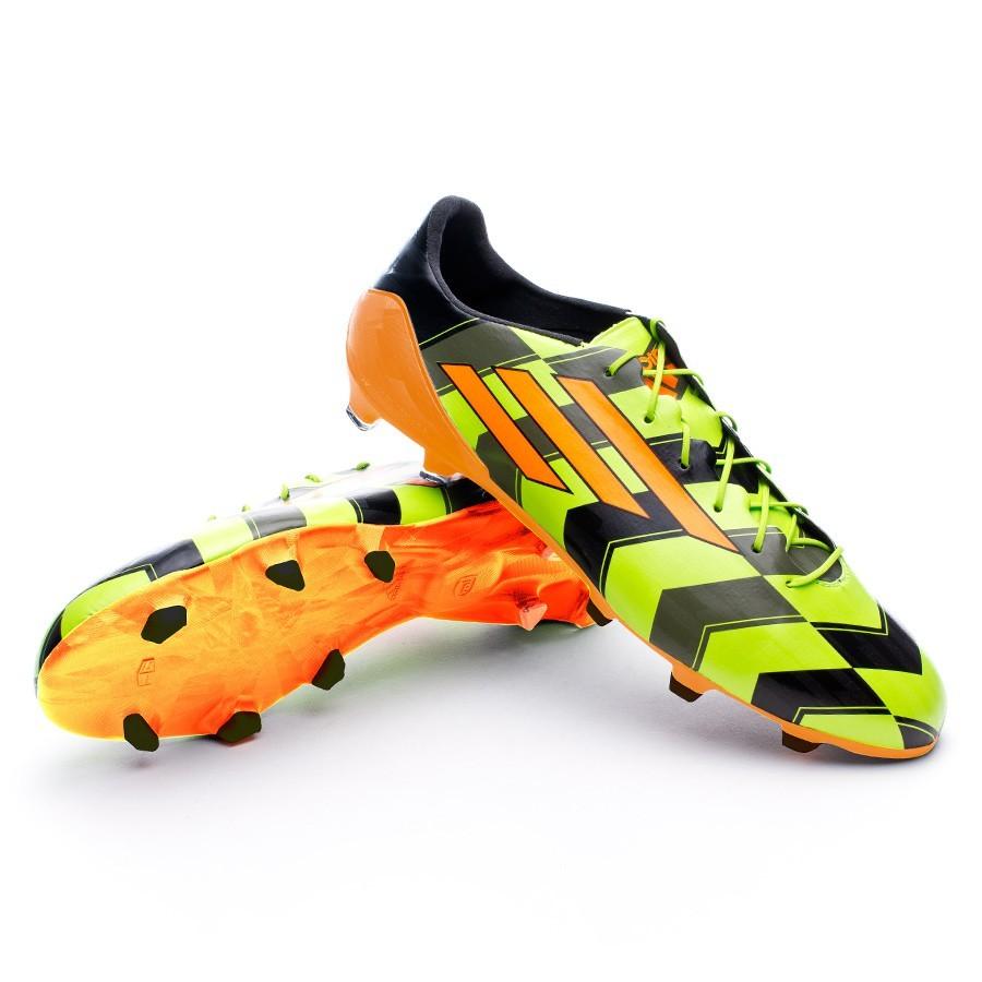 Bota de fútbol adidas adizero F50 TRX FG Crazylight Slime-Zest-Black -  Tienda de Fútbol. Soloporteros es ahora Fútbol Emotion