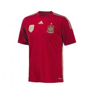 Maillot  adidas Sélection Espagnole 2014 Rouge