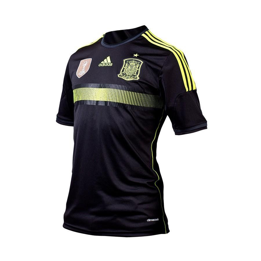 24beed48f71f5 Camiseta adidas Seleccion Española 2014 Negra-Electricity - Tienda de fútbol  Fútbol Emotion