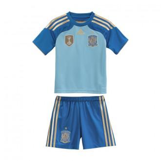 Tenue  adidas Jr Gardien Sélection Espagnole 2014 Bleu