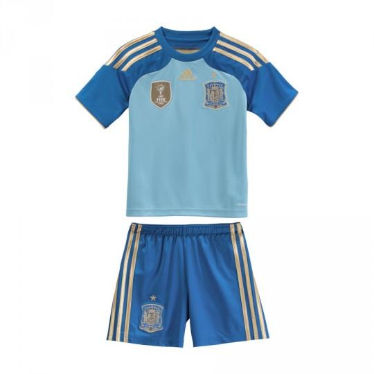Conjunto  adidas Jr Portero Selección Española 2014 Azul