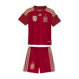 Tenue  adidas Jr Selección Española 2014 Rouge