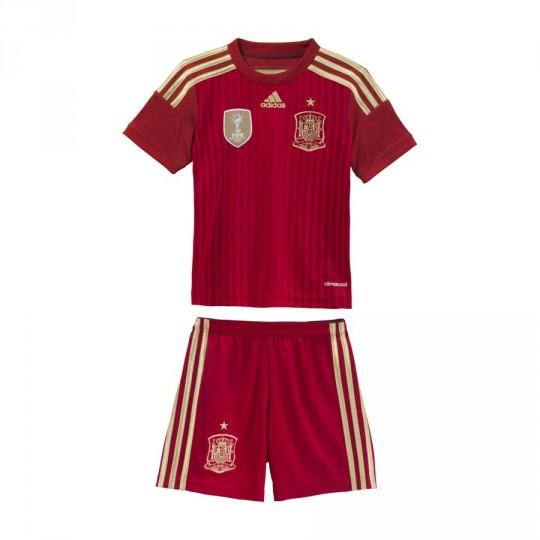 Conjunto  adidas Jr Selección Española 2014 Vermelho