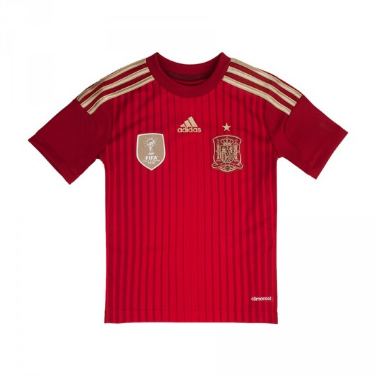 Maillot  adidas Jr Selección Española 2014 Rouge