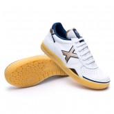 Sapatilha de Futsal Gresca Branco-Ouro