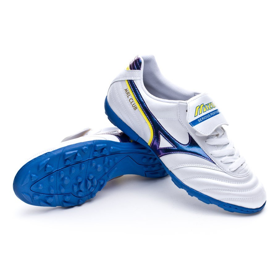 Boot Mizuno Morelia Club AS White-Purple-Yellow - Football store ... 5961c89bf78bb
