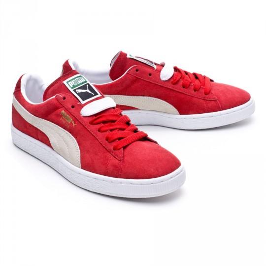 Zapatilla  Puma Suede Classic + Team regal red-White