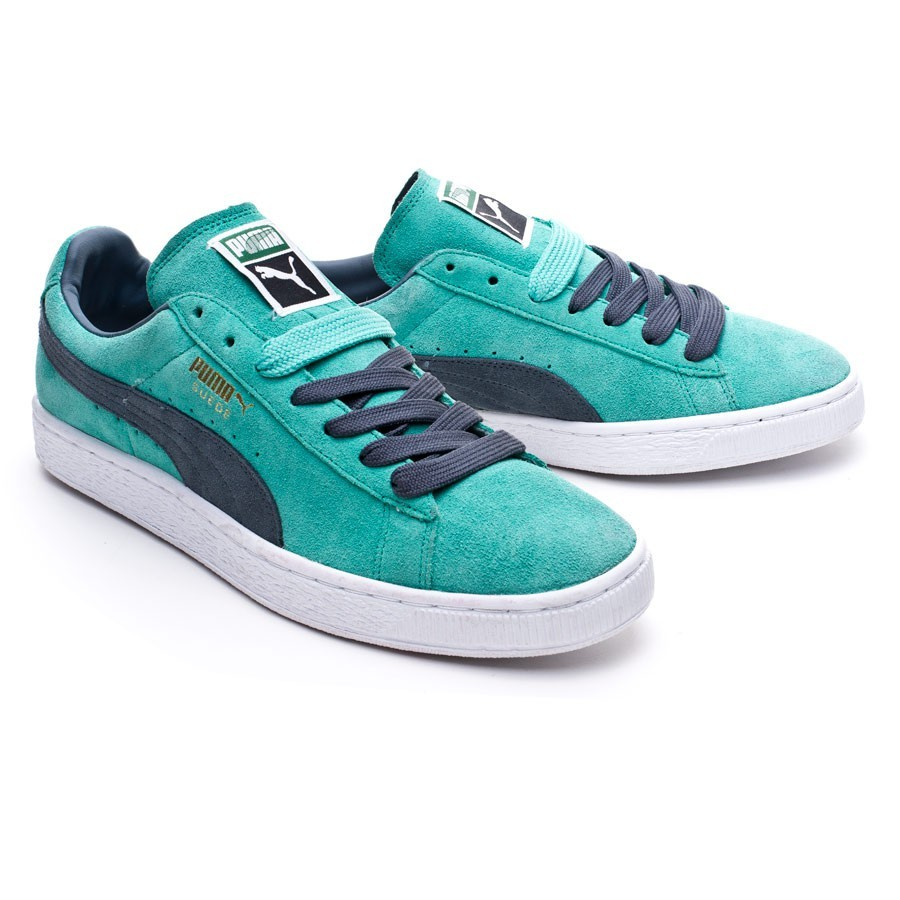 Trainers Puma Suede Classic Turquoise - Football store Fútbol Emotion 83547ca42