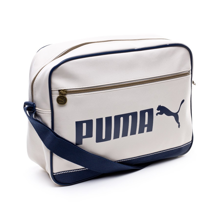 Bag Puma Campus Reporter White - Football store Fútbol Emotion 926adb75d5445
