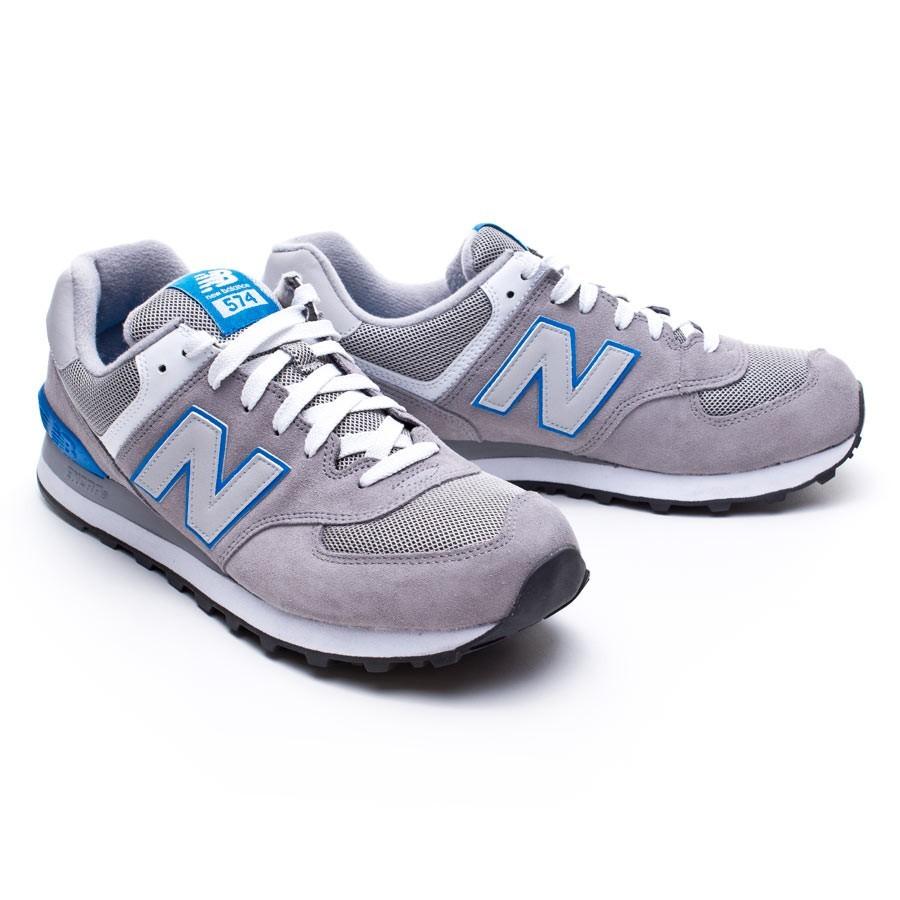 new balance gris azul