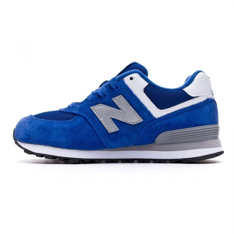 zapatillas new balance junior azul