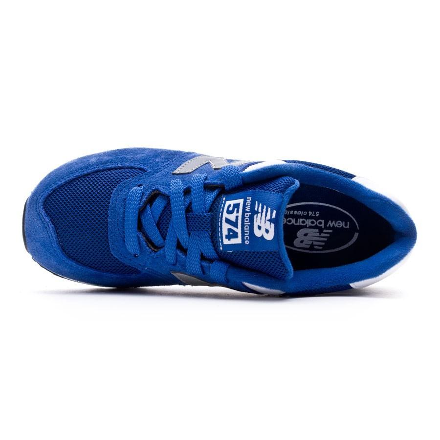 91d30db50bee Trainers New Balance Jr L574 Blue - Football store Fútbol Emotion