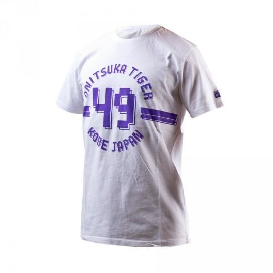 Maillot  Onitsuka Tiger Collegiate Tee Blanc