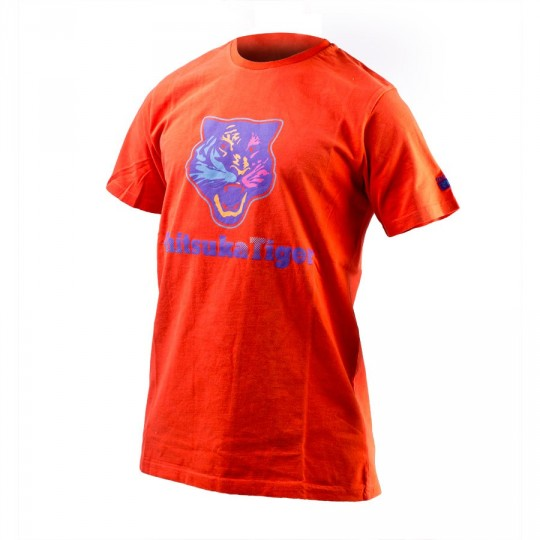 Maillot  Onitsuka Tiger Tiger Head Tee Rouge