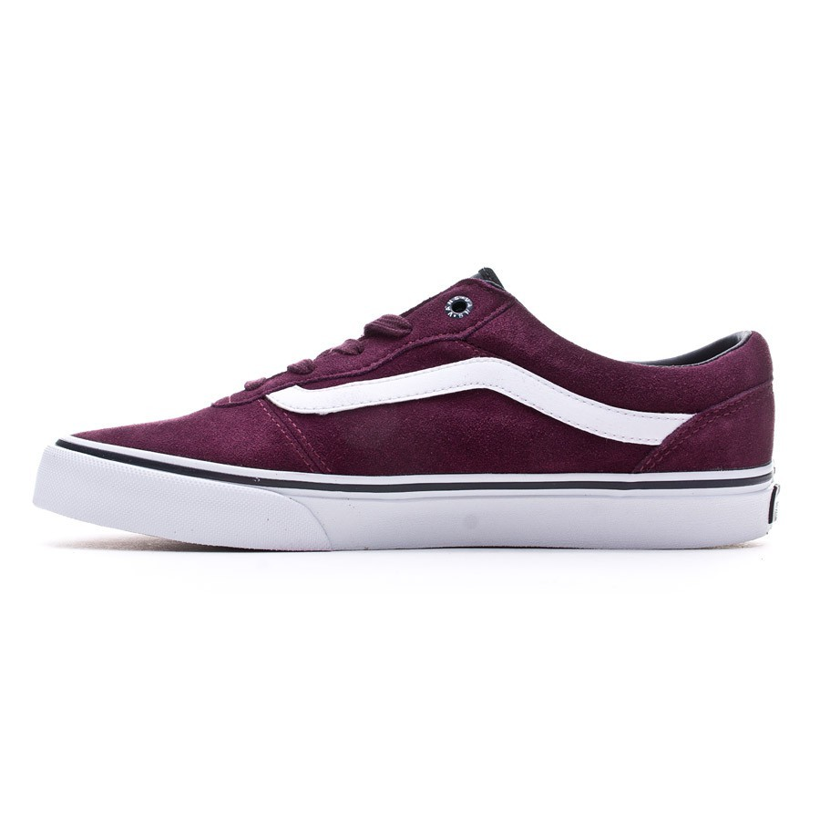 9325d0efe8 Trainers Vans Milton Wine-White - Football store Fútbol Emotion