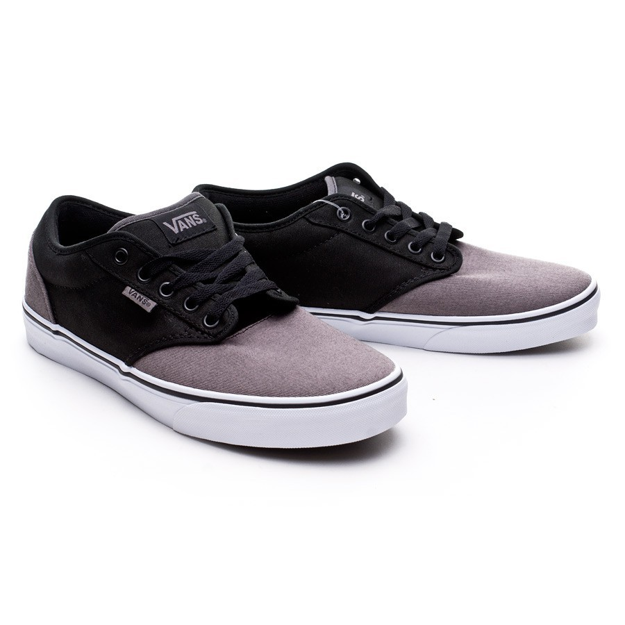cb396ece19e9 Trainers Vans Atwood Black-Grey - Football store Fútbol Emotion