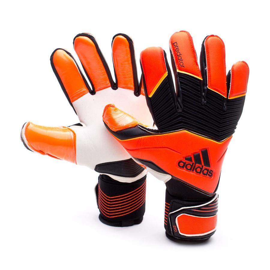 ca4ead78d46f Glove adidas Predator ZONES Pro Solar red - Football store Fútbol ...